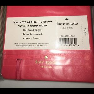 kate spade Office - Kate Spade French-English Phrase and Notebook